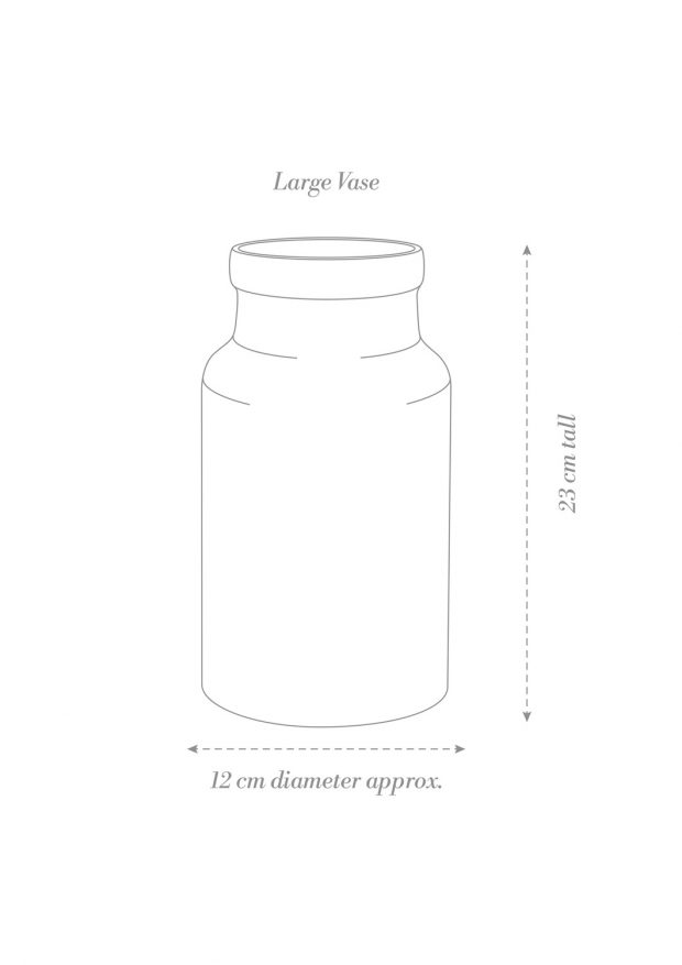 Large Vase Product Diagram