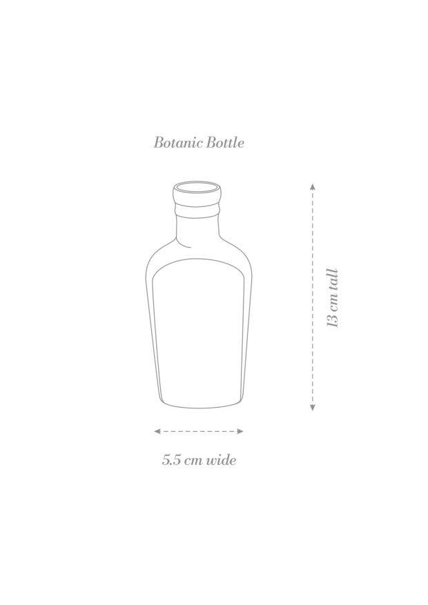 Botanic Bottle Product Diagram B