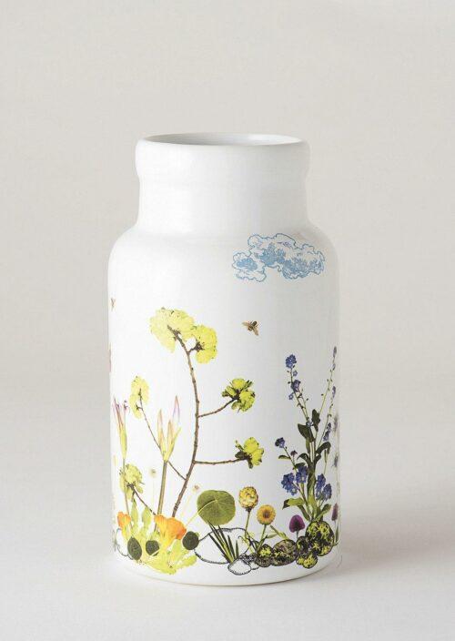 Large Vase - Cloudy Spring