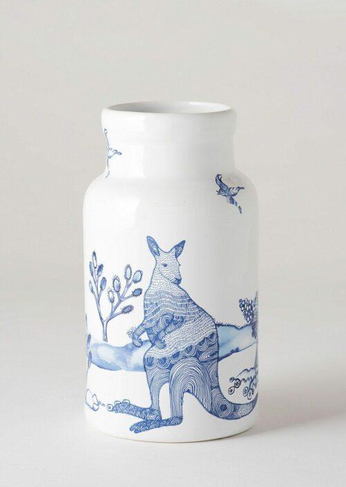Large Vase - True Blue