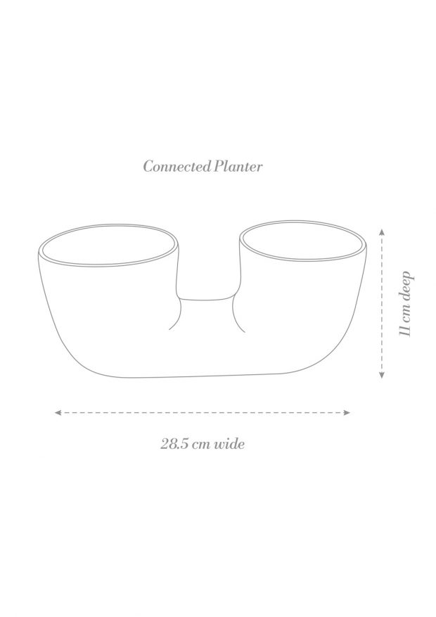 Connected Planter Product Diagram