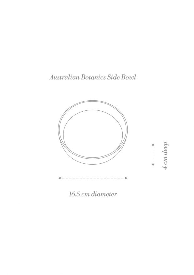 Australian Botanics Side Bowl Product Diagram
