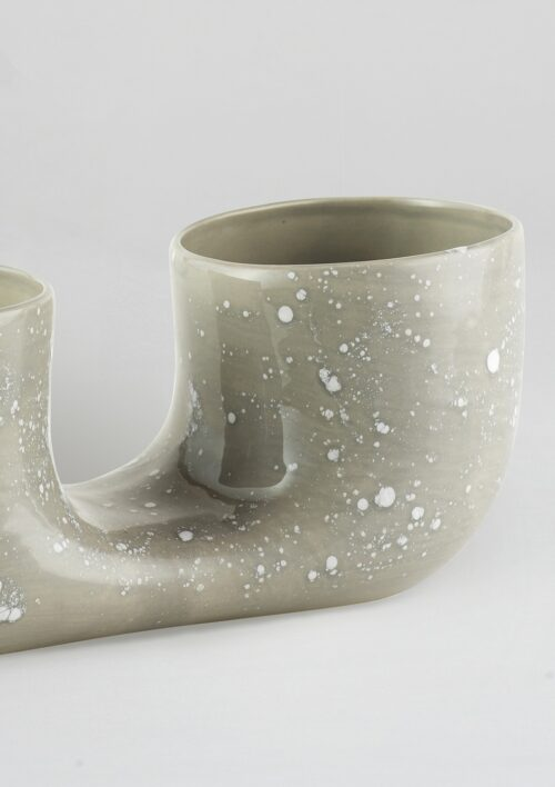 Connected Plant Pot - Grey Crystal