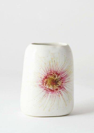 Pebble Vase Fairy Floss Gum Blossom