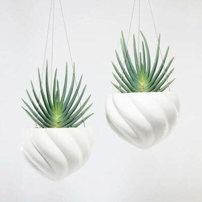 Spiral Hanging Planters