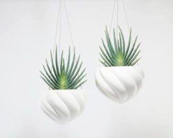 Spiral Hanging Planters Menu Tile