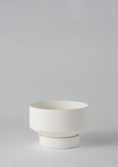 Angus & Celeste Collectors Gro Pot Small White