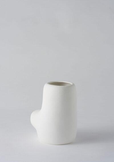 Angus & Celeste Artform Vase Small White