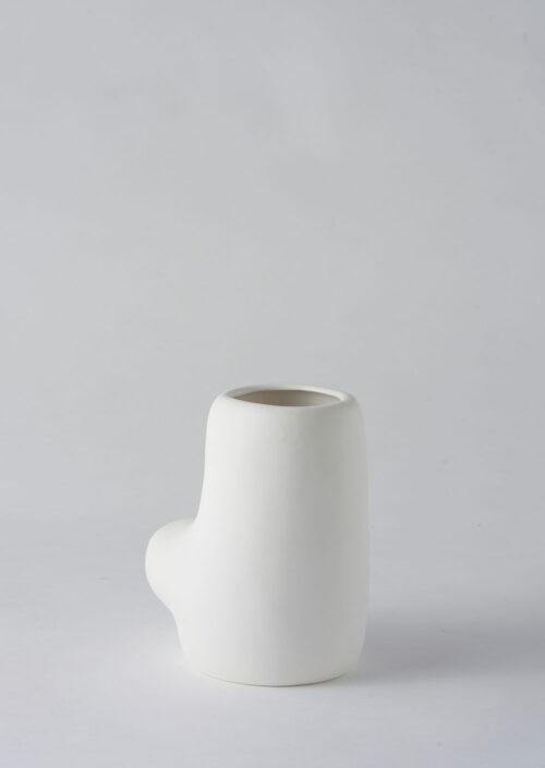Art Form Vase - White, Small