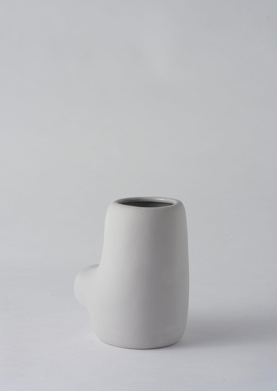 Angus & Celeste Artform Vase Small Grey