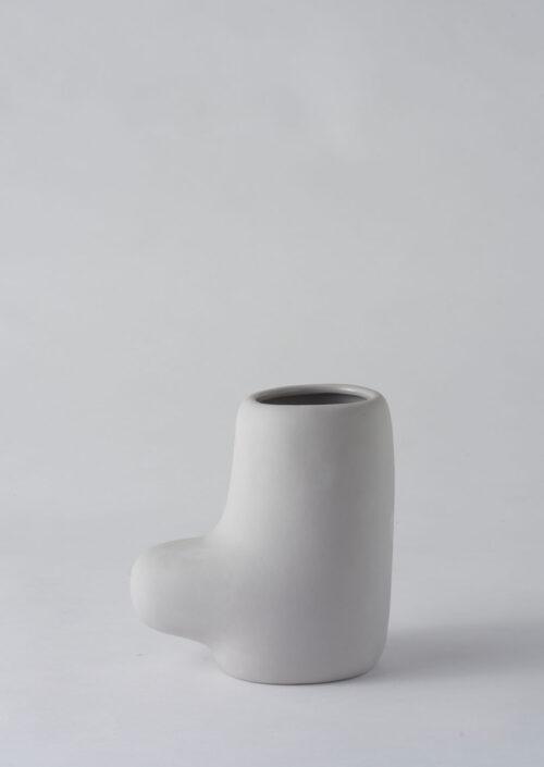 Art Form Vase - Grey, Small