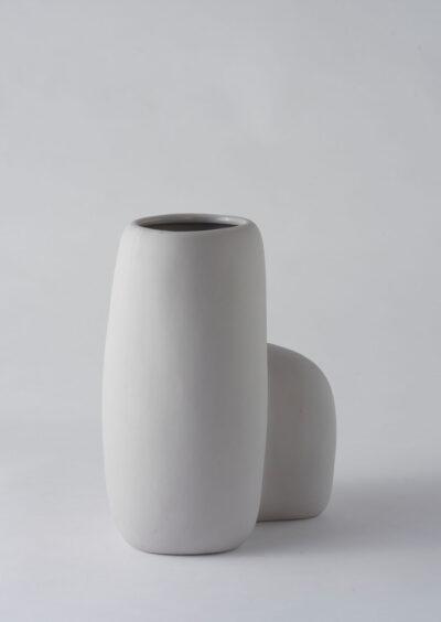 Angus & Celeste Artform Vase Large Grey