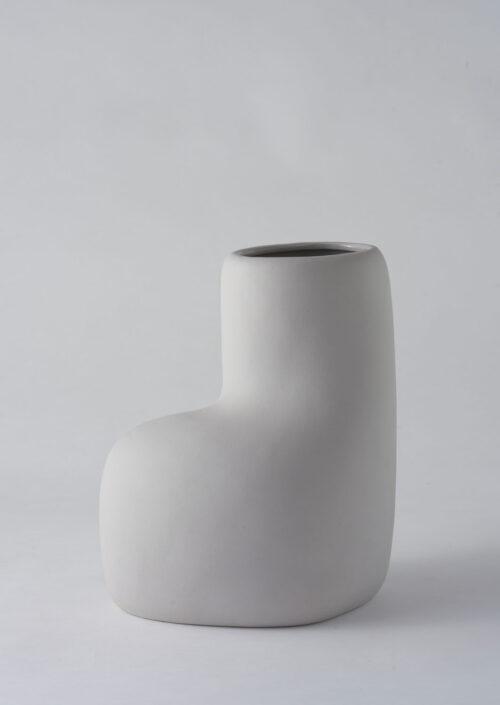 Art Form Vase - Grey, Large