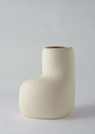 Angus & Celeste Artform Vase Large Cream