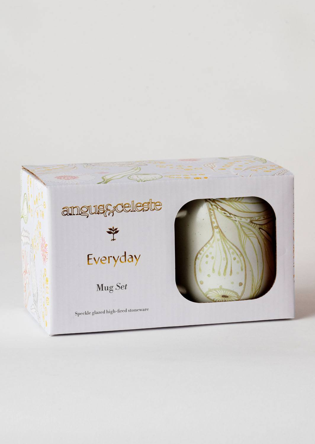 Angus & Celeste Everyday Mugs Eucalyptus Boxed