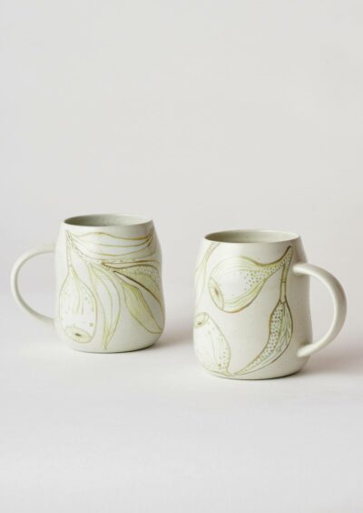 Angus & Celeste Everyday Mugs Eucalyptus Pair
