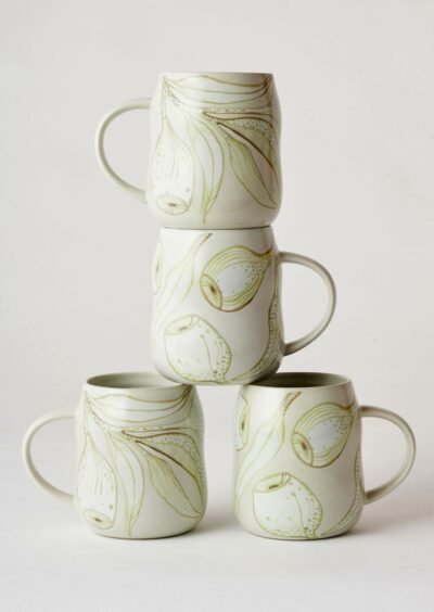 Angus & Celeste Everyday Mugs Eucalyptus Set of Four