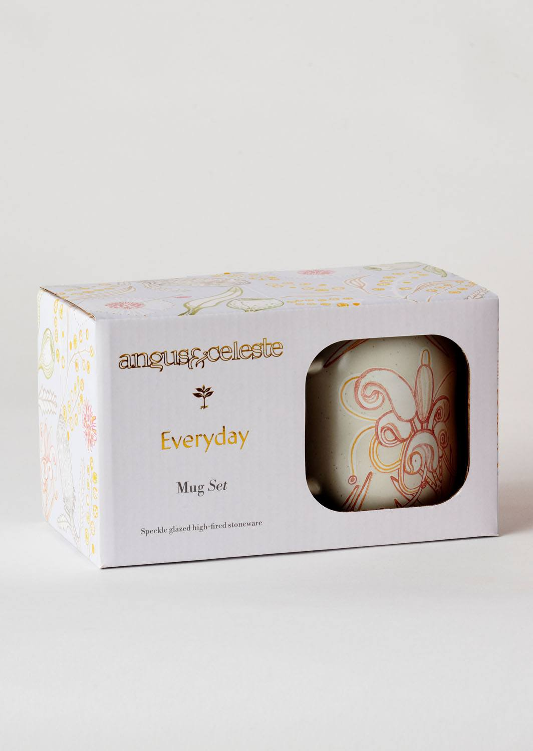 Angus & Celeste Everyday Mugs Grevillea Boxed