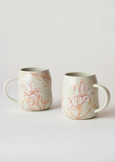 Angus & Celeste Everyday Mugs Grevillea Pair