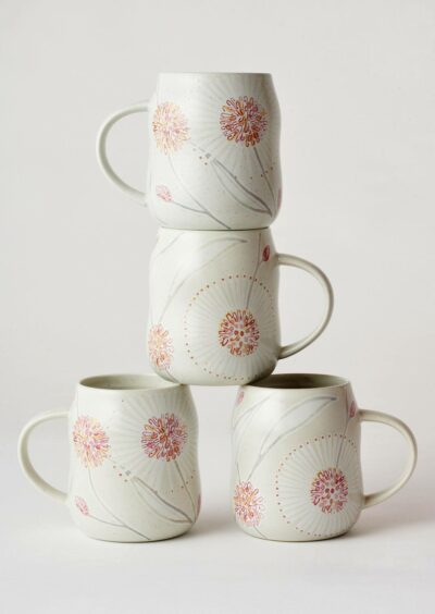 Angus & Celeste Everyday Mugs Hakea Set of Four