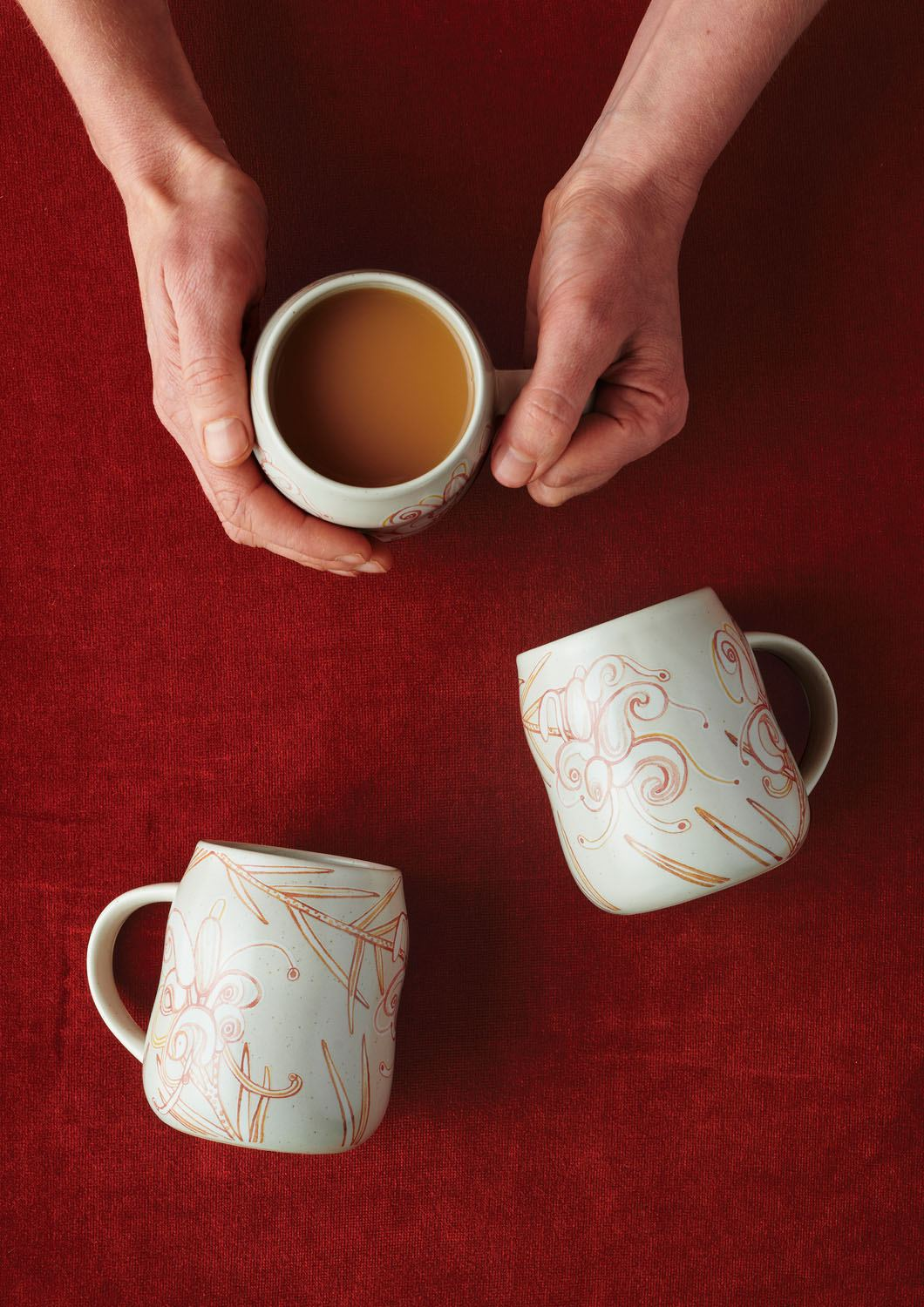 Angus & Celeste Everyday Mugs Grevillea Styled