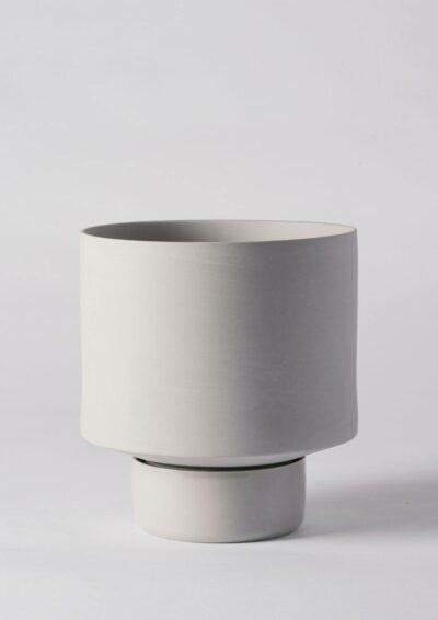 Angus & Celeste Collectors Gro Pot Large Light Grey