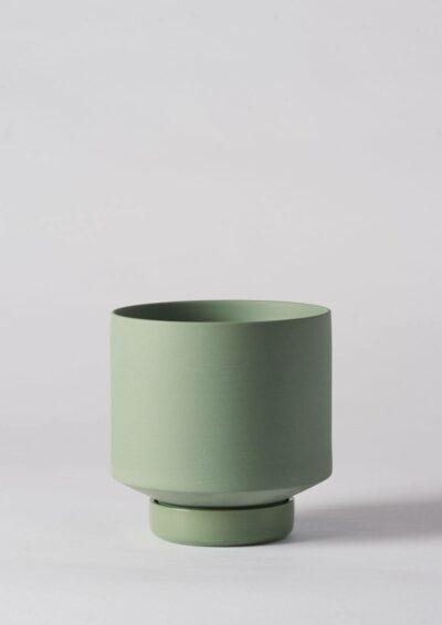 Angus & Celeste Collectors Gro Pot Medium Olive Green
