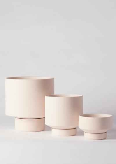 Angus & Celeste Collectors Gro Pot Trio Set Soft Pink