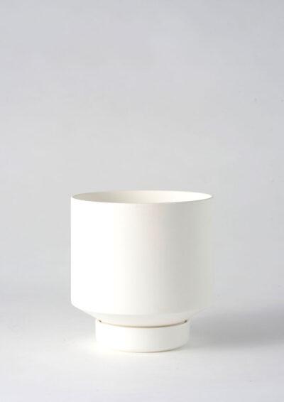 Angus & Celeste Collectors Gro Pot Medium White
