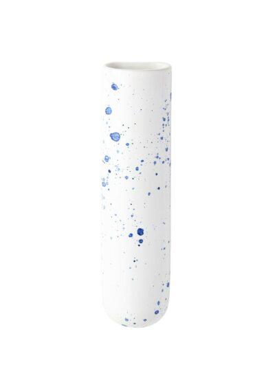 Angus & Celeste Test Tube Wall Vase Blue Crystal