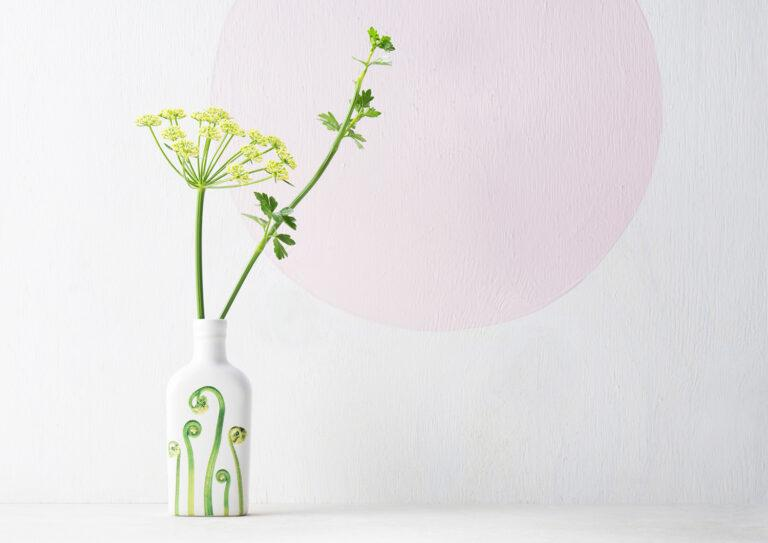 Botanic Bottle Vases