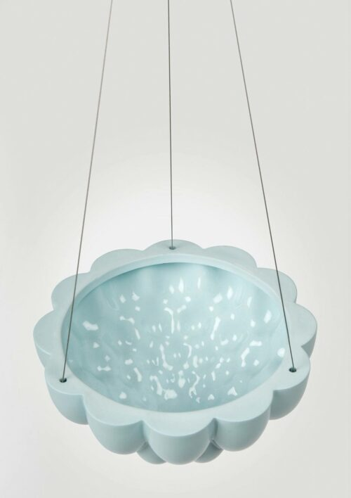 Jelly Hanging Planter - Blue