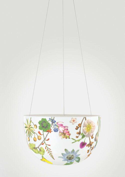 Decorative Hanging Planter - Spring Flowers
