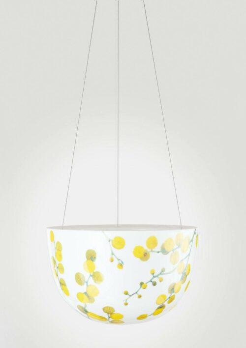 Decorative Hanging Planter - Wattle Blossom